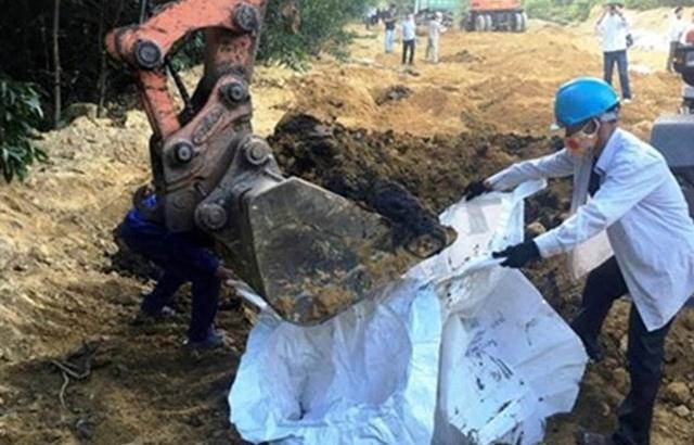 Phạt hơn 1 tỷ đồng vụ chôn rác thải trái phép từ nhà máy Formosa Hà Tĩnh