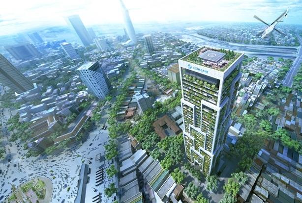 """Dự án Tháp Eximbank tiếp tục """"trùm mền""""?"""