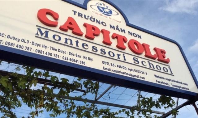 Vụ tự ý tổ chức dạy học trực tiếp tại Sóc Sơn: Lãnh đạo Trường tiểu học Capitole nói gì?