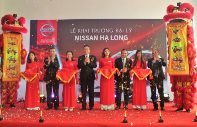 Khai trương đại lý Nissan Hạ Long theo tiêu chuẩn mới nhất của Nhật Bản