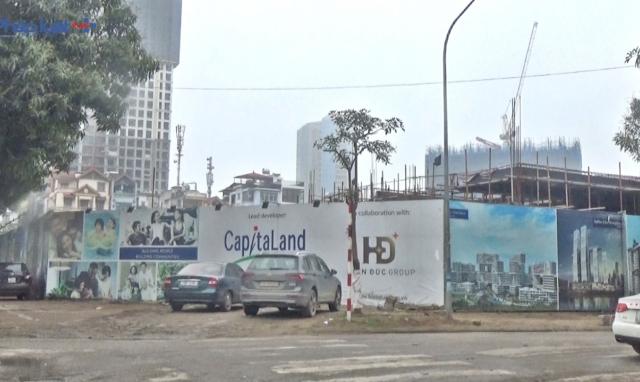 Dự án CapitaLand - Hiền Đức: Xây dựng công trình không giấy phép