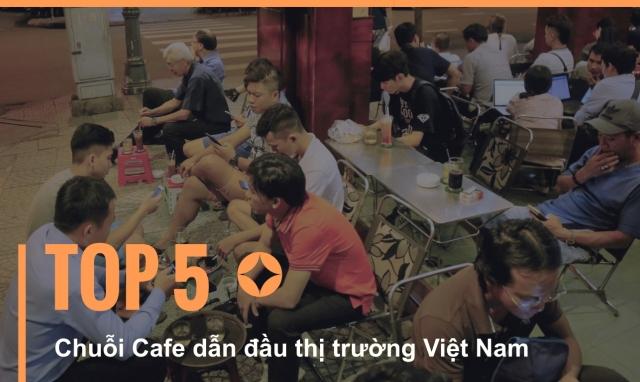 Infographics - Top 5 chuỗi cà phê dẫn đầu thị trường Việt Nam