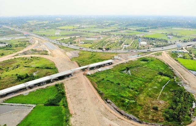 Hàng loạt dự án giao thông lớn phía Nam chậm vì đói vốn