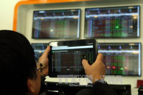 Thị trường chứng khoán lao dốc phiên đầu năm Canh Tý
