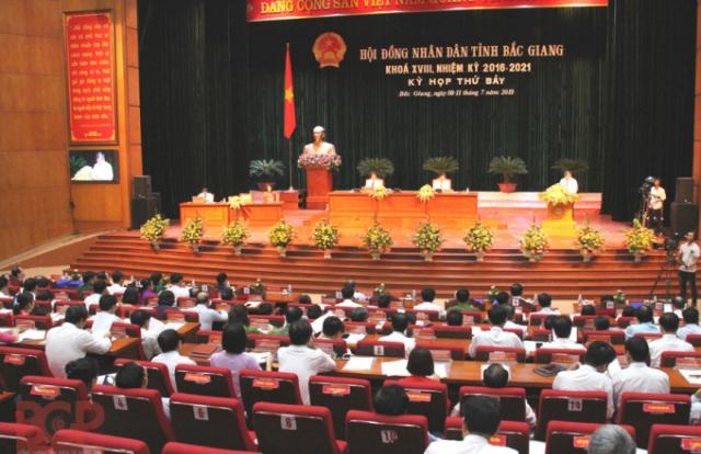 Hôm nay (8/7), khai mạc Kỳ họp thứ 10 HĐND tỉnh Bắc Giang khóa XVIII