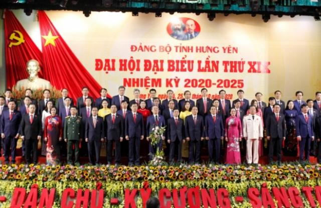 Đại hội Đại biểu Đảng bộ tỉnh Hưng Yên lần thứ XIX thành công tốt đẹp