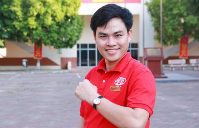 """Thầy giáo trẻ Nguyễn Minh Phương 10 năm gắn với danh hiệu """"Người tốt việc tốt"""""""
