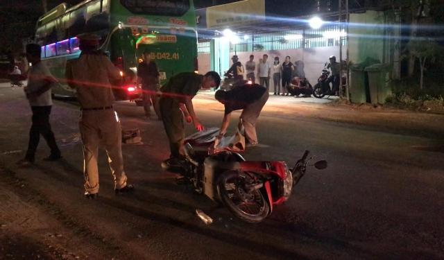 Bình Dương: Truy tìm xe tải liên quan đến vụ tai nạn khiến 1 người tử vong
