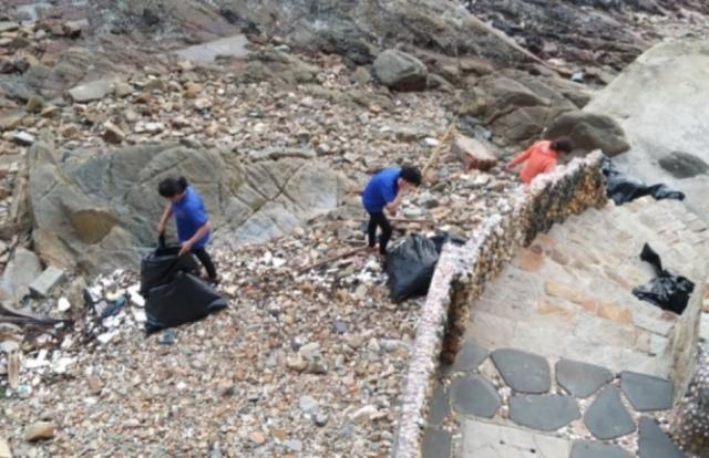 Bà Rịa - Vũng Tàu: Thu hồi giấy kinh doanh quán cà phê Heaven có nhân viên xả rác xuống biển