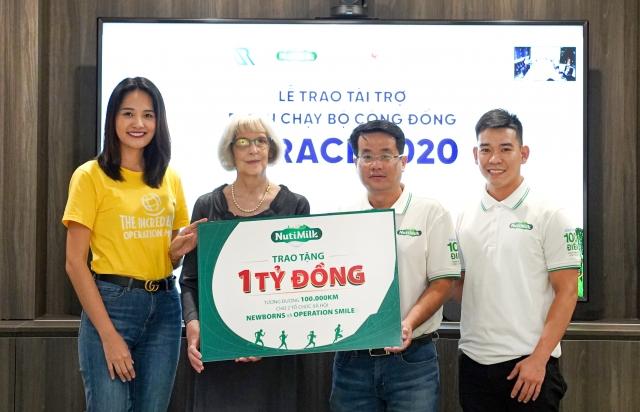 NutiMilk trao tặng 1 tỷ đồng cho 2 tổ chức xã hội Newborns Việt Nam và Operation Smile