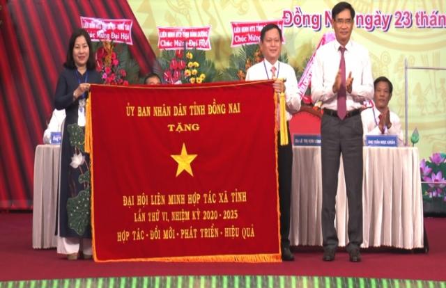 Liên minh Hợp tác xã tỉnh Đồng Nai tổ chức thành công Đại hội lần thứ VI