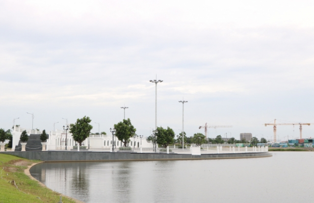 Hàng loạt công trình tại dự án Vạn Phúc City xây dựng khi chưa được cấp phép