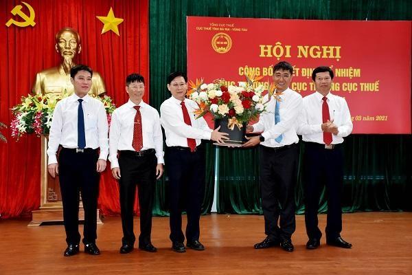 Bà Rịa - Vũng Tàu: Công bố quyết định bổ nhiệm lãnh đạo Cục Thuế tỉnh