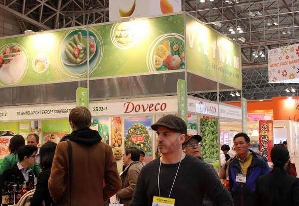 23 doanh nghiệp Việt Nam tham dự Hội chợ đồ uống tại Nhật Bản