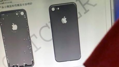 Lộ diện mặt sau iPhone 7 Plus có camera kép