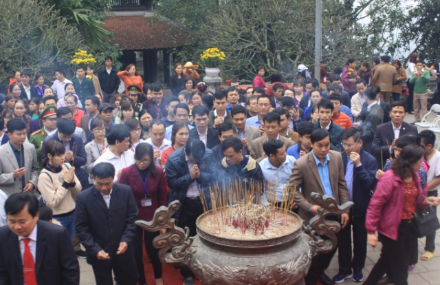 Phú Thọ: Triển khai kế hoạch Giỗ tổ Hùng Vương 2018
