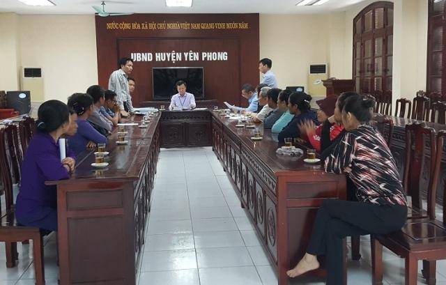 """Bắc Ninh: Cuộc đối thoại """"kỳ lạ"""" trước những khiếu nại của người dân về vấn đề đất đai?"""