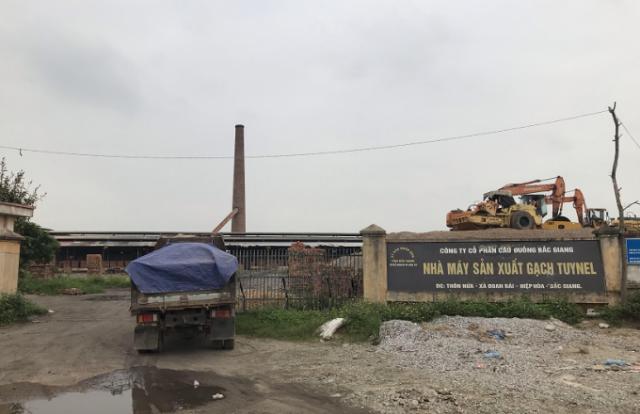 """Công ty Cầu Đuống Bắc Giang tố bị các đối tượng """"bao vây"""", gây cản trở hoạt động sản xuất kinh doanh?"""