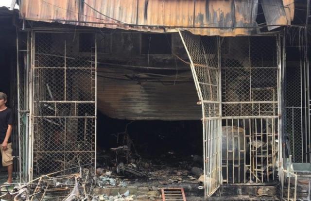 """Hải Dương: """"Bà hỏa"""" bao trùm cửa hàng tạp hóa khiến hai mẹ con thiệt mạng"""