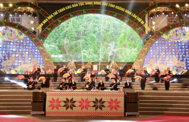 Quảng Ninh: Rực rỡ sắc màu Lễ Khai mạc Tuần Văn hóa, thể thao các dân tộc vùng Đông Bắc