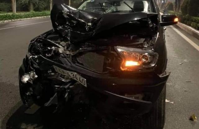 """Quảng Ninh: Xe máy """"tông"""" trực diện ô tô, hai người thiệt mạng"""