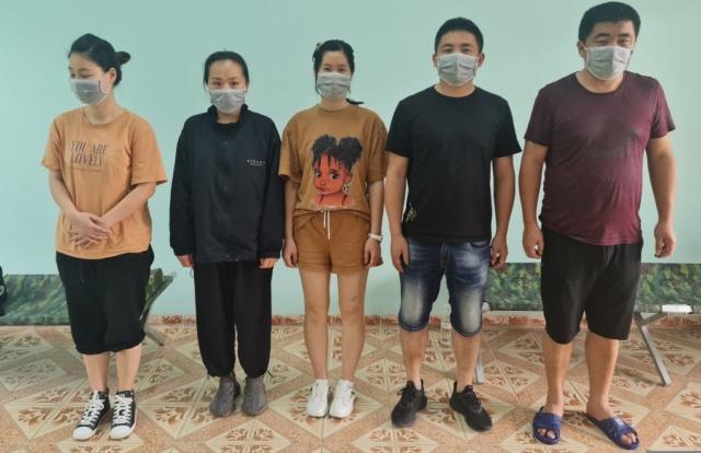 Quảng Ninh: Tạm giữ 5 đối tượng người Trung Quốc nhập cảnh trái phép