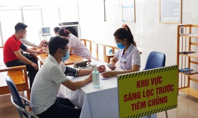 Quảng Ninh: Thành lập 40 tổ cấp cứu, xử lý các phản ứng bất lợi sau tiêm vắc xin phòng Covid-19