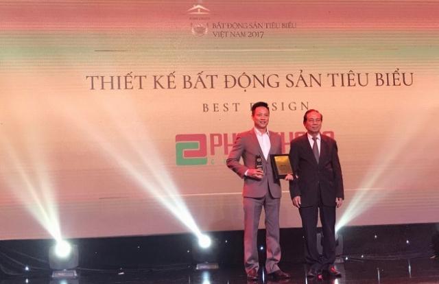 """Phuc Khang Corporation: Nhận danh hiệu """"Thiết kế Bất động sản tiêu biểu"""" năm 2017"""