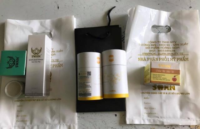 """Sở Y tế Đồng Nai đề nghị điều tra việc Công ty Hoàng Nga kinh doanh mỹ phẩm """"bát nháo"""""""