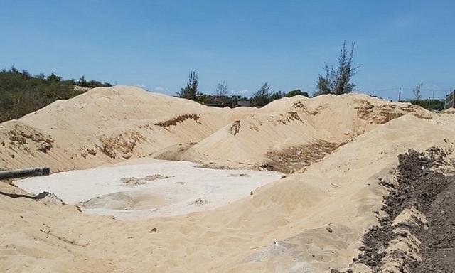 Free Land khai thác trái phép gần 4.500m3 cát tại Bà Rịa – Vũng Tàu