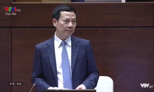 Bộ trưởng Nguyễn Mạnh Hùng nêu giải pháp đối phó tin xấu trên mạng xã hội