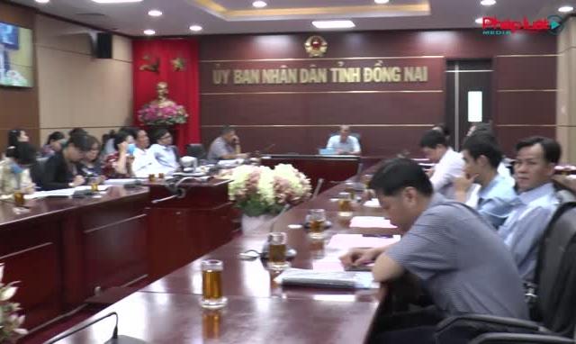 Bộ Tư pháp tổ chức hội nghị trực tuyến về Luật ban hành Văn bản quy phạm pháp luật.