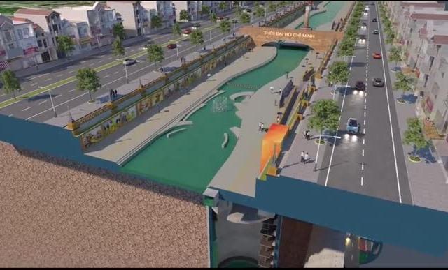 """Đề xuất làm Dự án hầm chống ngập """"khổng lồ"""" kết hợp cao tốc ngầm chạy dọc sông Tô Lịch"""