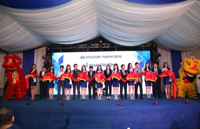 Hyundai khai trương đại lý chuẩn thương mại toàn cầu tại Nghệ An - Hà Tĩnh