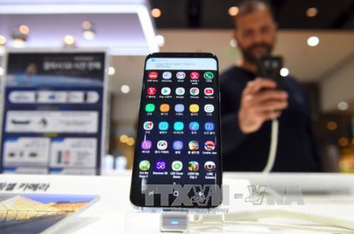 Doanh số Samsung Galaxy S8 cao hơn Galaxy S7
