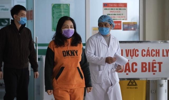 Thêm 3 bệnh nhân nhiễm Covid-19 điều trị khỏi/xuất viện