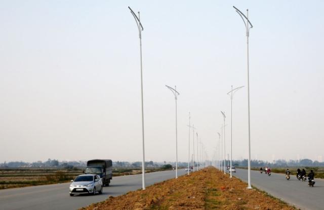 """Công ty Thiên Hòa Hưng nhà thầu cung cấp hệ thống chiếu sáng """"mới"""" của huyện Hoài Đức"""