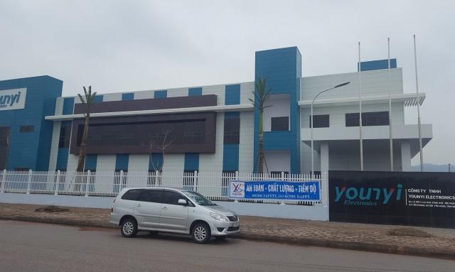 Công ty Younyi Electronics Vina xả thải vượt chuẩn ra môi trường ở Bắc Giang