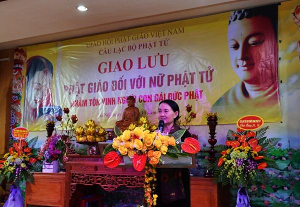 """Giáo hội Phật giáo Việt Nam tổ chức giao lưu """"Phật giáo đối với nữ Phật tử"""""""