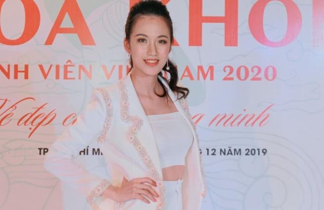 Nhan sắc xinh đẹp của giám khảo Hoa khôi Sinh viên Việt Nam 2020