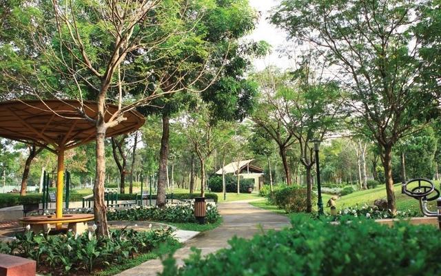Triết lý đằng sau công trình kiến tạo mảng xanh của Celadon City