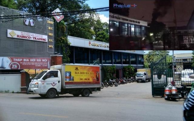 Nhà máy bia Hà Nội thừa nhận xả khói đen ra môi trường