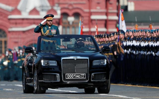 13.000 binh sĩ tham gia lễ duyệt binh Ngày Chiến thắng trên Quảng trường Đỏ, Moskva, Nga