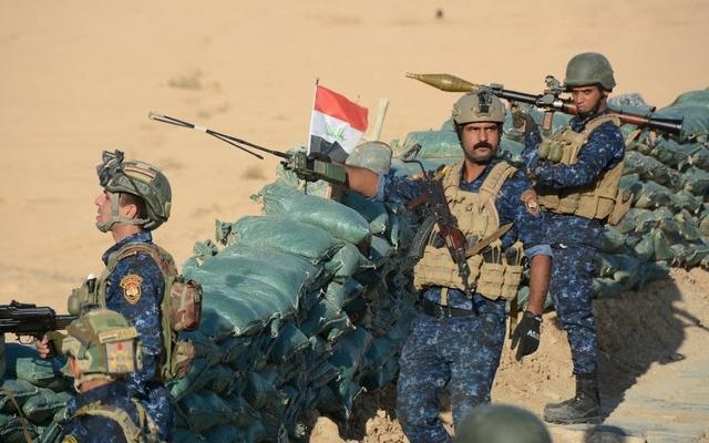 Lực lượng an ninh Iraq phá huỷ nhiều căn cứ của tổ chức khủng bố IS