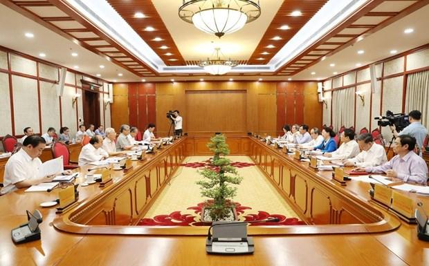 Video: Tổng bí thư, Chủ tịch nước Nguyễn Phú Trọng chủ trì họp Bộ Chính trị