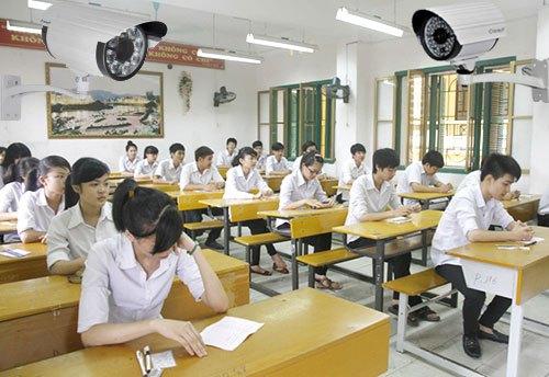 Nghệ An chi hơn 1 tỷ đồng lắp camera giám sát tại các điểm thi THPT quốc gia