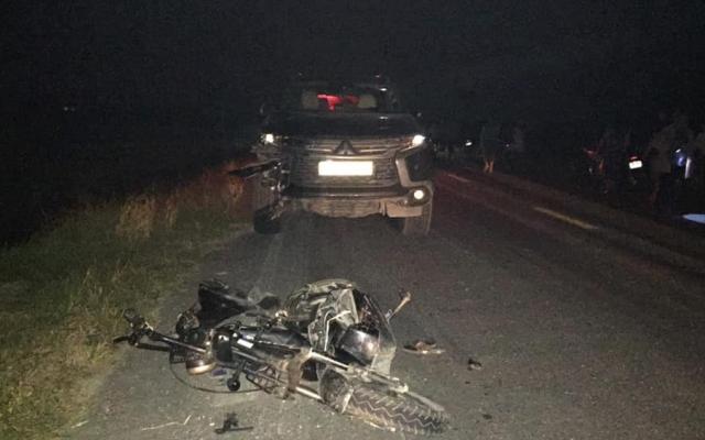 Tài xế điều khiển ô tô tông xe máy điện khiến 3 cháu nhỏ tử vong đến công an trình diện
