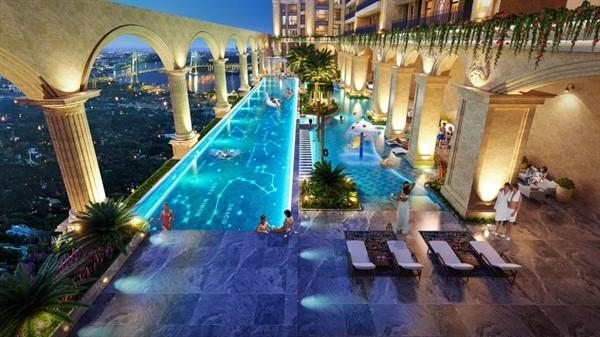 Trải nghiệm Resort 5 sao và vườn La Mã trên không tại Thủ Thiêm