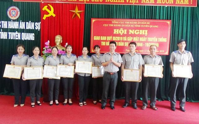 Tuyên Quang:  Thi hành 5.158 vụ việc, thu gần 190 tỷ đồng