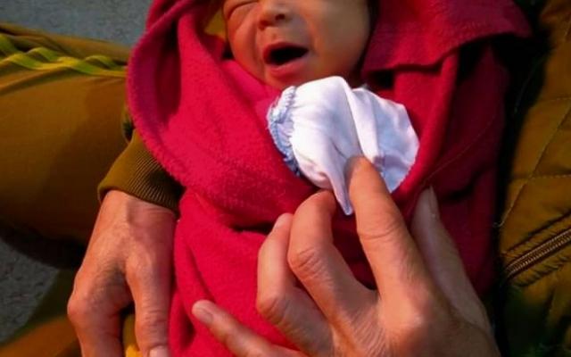 Gia Lai: Bé sơ sinh bị bỏ rơi trước cổng tịnh xá
